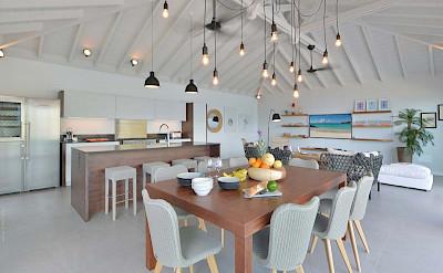 Eden Rock Villa Rental Dining Room 2