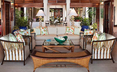 Jumby Bay Antigua Hummingbird Living Room