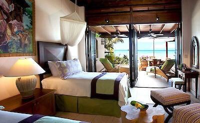 Jumby Bay Antigua Hummingbird Bedroom