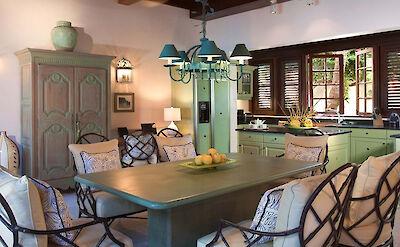 Jumby Bay Antigua Hummingbird Kitchen