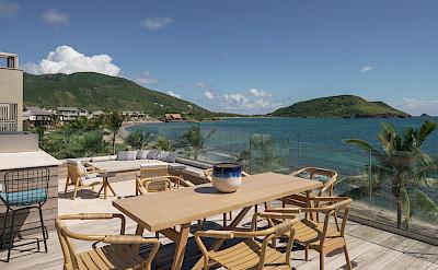Park Hyatt St Kitts Presidential Villa Outdoor Dining Lounge