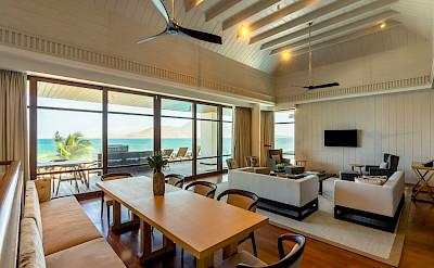 Park Hyatt St Kitts Presidential Villa Living Dining