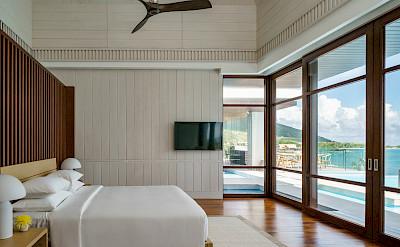 Park Hyatt St Kitts Presidential Villa Master Bedroom