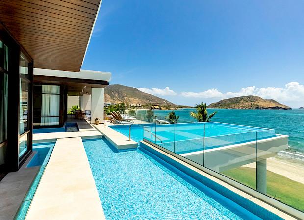 Park Hyatt St Kitts Presidential Villa Exterior Pool