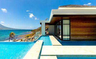 Park Hyatt St Kitts Presidential Villa Exterior Pool B