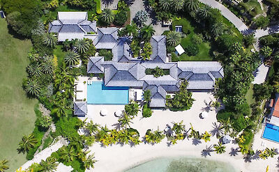 Jumby Bay Island Private Residences Sandpiper Aerial