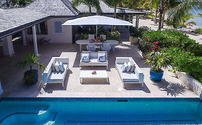Jumby Bay Island Private Residences Sandpiper Pool 2