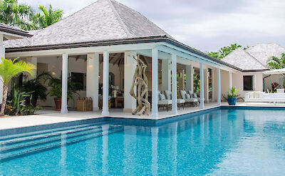Jumby Bay Island Private Residences Sandpiper Beach House Swimming Pool