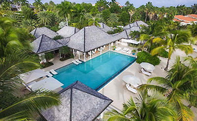 Jumby Bay Island Private Residences Sandpiper Aerial 2