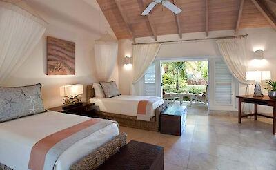 Jumby Bay Island Private Residences Sandpiper Beach House Bedroom 6