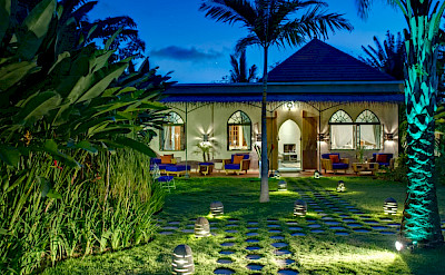 Sayang Damour Garden Lights At Night