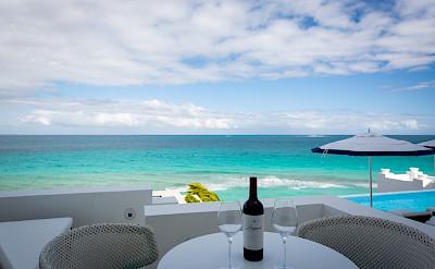 Long Bay Villas Anguilla Sea Table 1