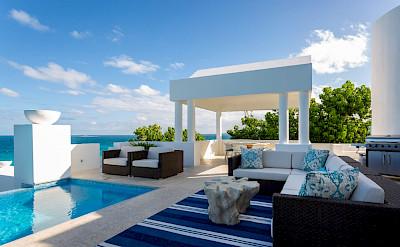 Long Bay Villas Anguilla Sea Dining 1