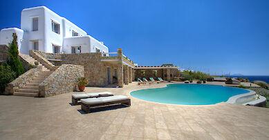 European Island villa rentals
