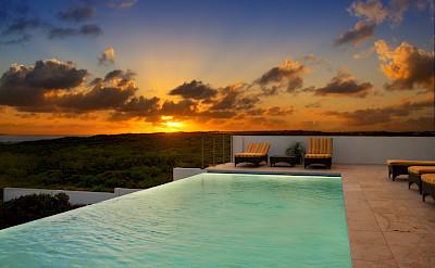 Pool Sunset 2
