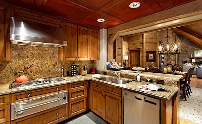 Colorado Lodge Kitchen