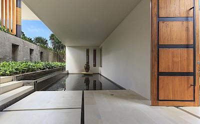 The Iman Villa Stunning Entrance Water Feature