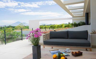 The Iman Villa Master Bedroom Terrace