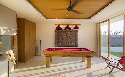 Villa Iman The Gamres Room