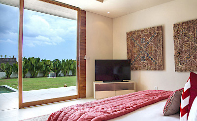The Iman Villa Guest Bedroom One View