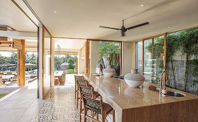 The Iman Villa Family Kitchen Area