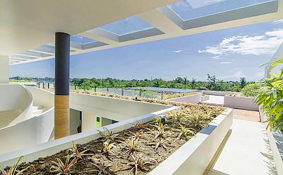 Villa Iman Main House Upstairs Terrace