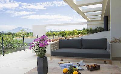 Villa Iman Master Bedroom Terrace