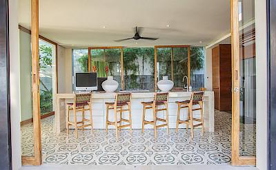 The Iman Villa Family Kitchen
