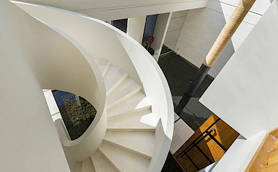 Villa Iman Staircase From Above