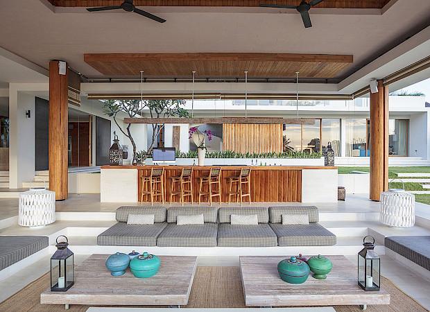 The Iman Villa Open Air Lounge