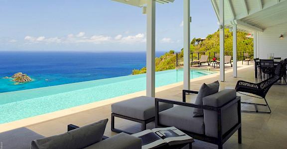 Vacation Rental St Barthelemy WV VUE Villa St Barts Villa Vueter Desktop