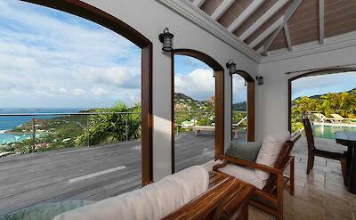 Vacation Rental St Barthelemy WV DSA S St Barts Villa DSAdek Desktop