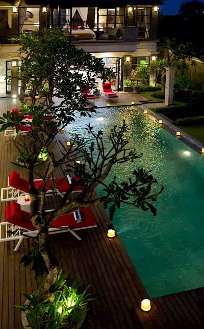 Villa Lega Pool View From Master Bedroom