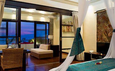 Villa Lega Master Bedroom At Night