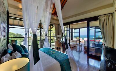 Villa Lega Master Bedroom 1 Ocean View