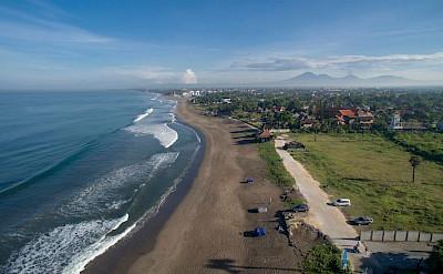 Villa Lega Aerial Facing West Along The Beach