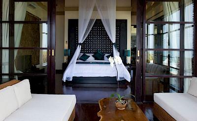 Villa Lega Master Bedroom View From Balcony