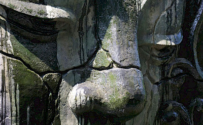 Villa Lega Statue
