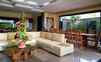 Villa Lega Living And Dining Area