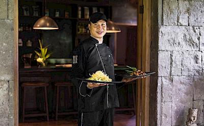 Villa Zelie Chef And His Foods