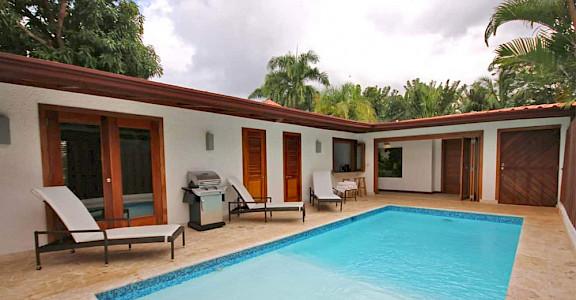 Bedroom Garden Villa Zen