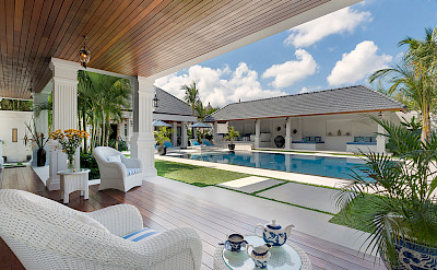 Villa Windu Asri Poolside Tea