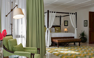 Villa Windu Asri Downstairs Main House Bedroom
