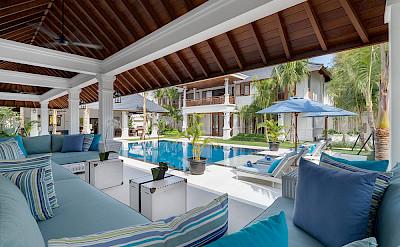 Villa Windu Asri Main House View From Bales