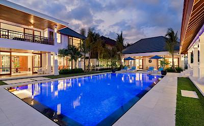 Villa Windu Asri Night Time At The Villa