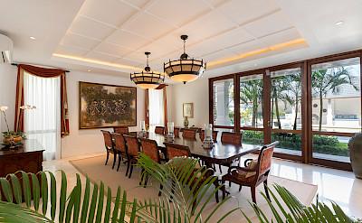 Villa Windu Asri Main House Dining