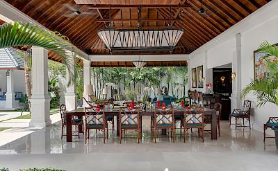 Villa Windu Asri Dining Table In Grand Living Pavilion