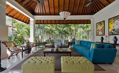 Villa Windu Asri Seating In Grand Living Pavilion