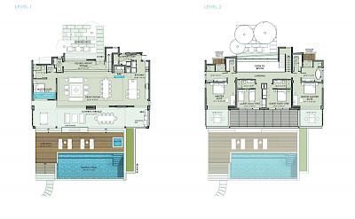 Belb Rentals Floorplan Villa V 6