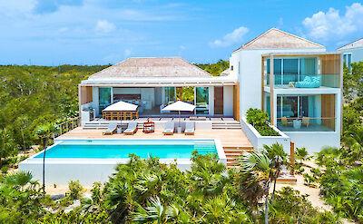 High Res Villa 2 Beach Front View
